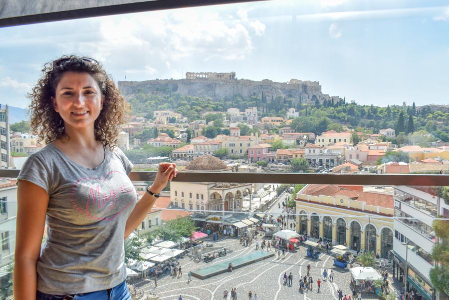 Obiective în Atena - Priveliște de la A for Athens