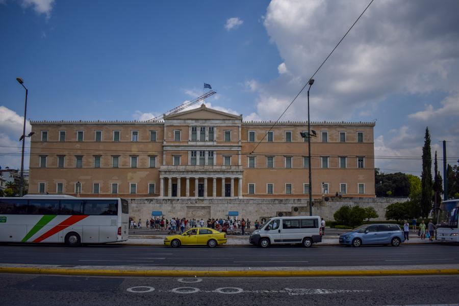 Obiective în Atena - Parlamentul elen