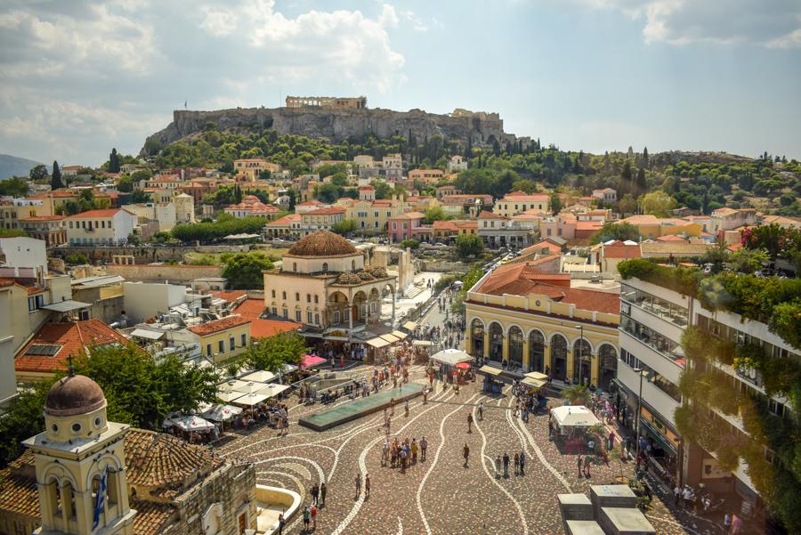 Atena, Grecia - Priveliște de la A for Athens