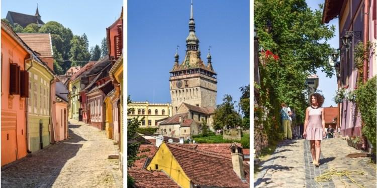 Sighișoara, un festin de culoare și farmec medieval