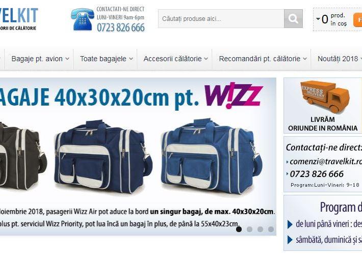 Travelkit: destinația ideală pentru bagaje și accesorii de călătorie