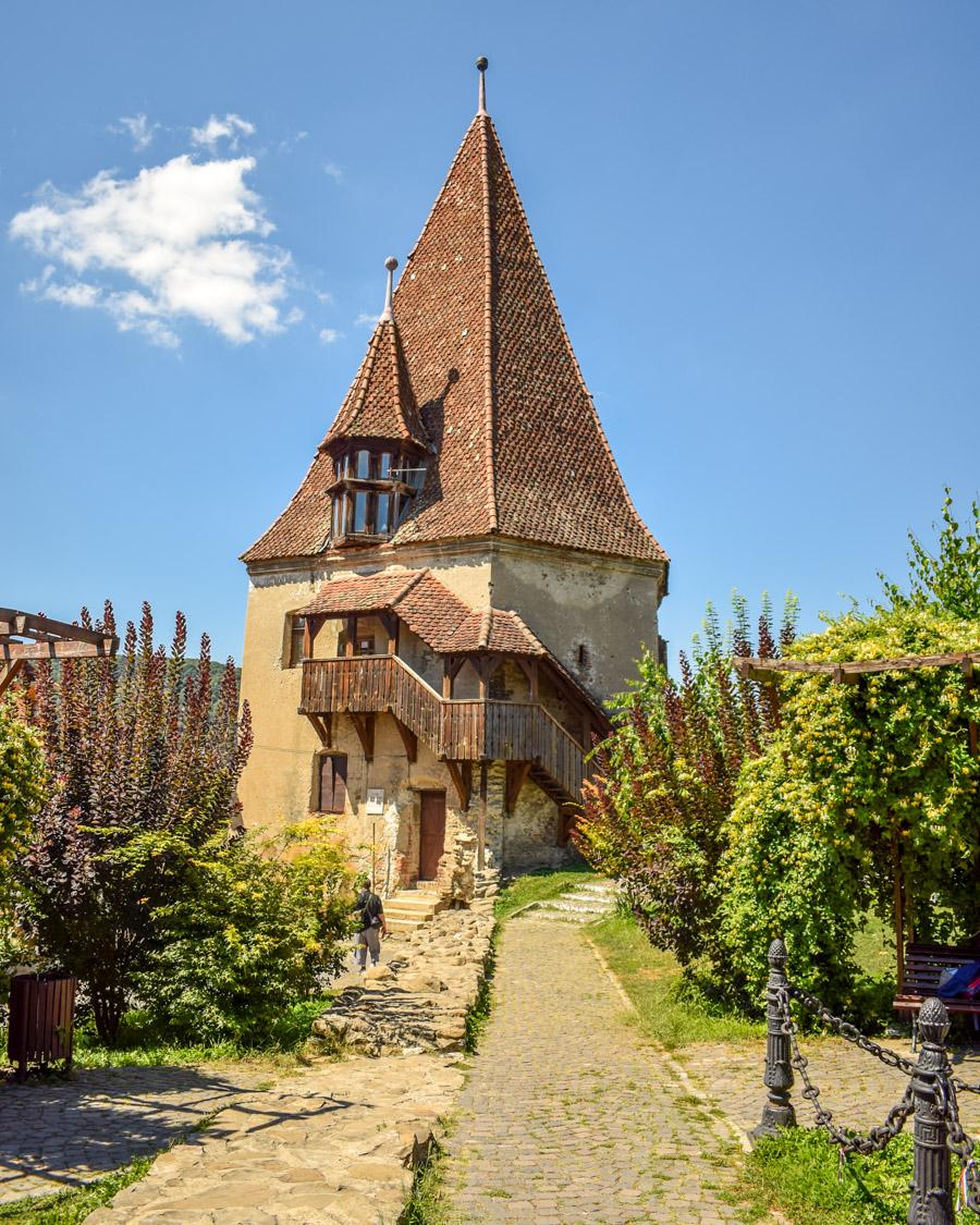 turnul cizmarilor Sighișoara, România
