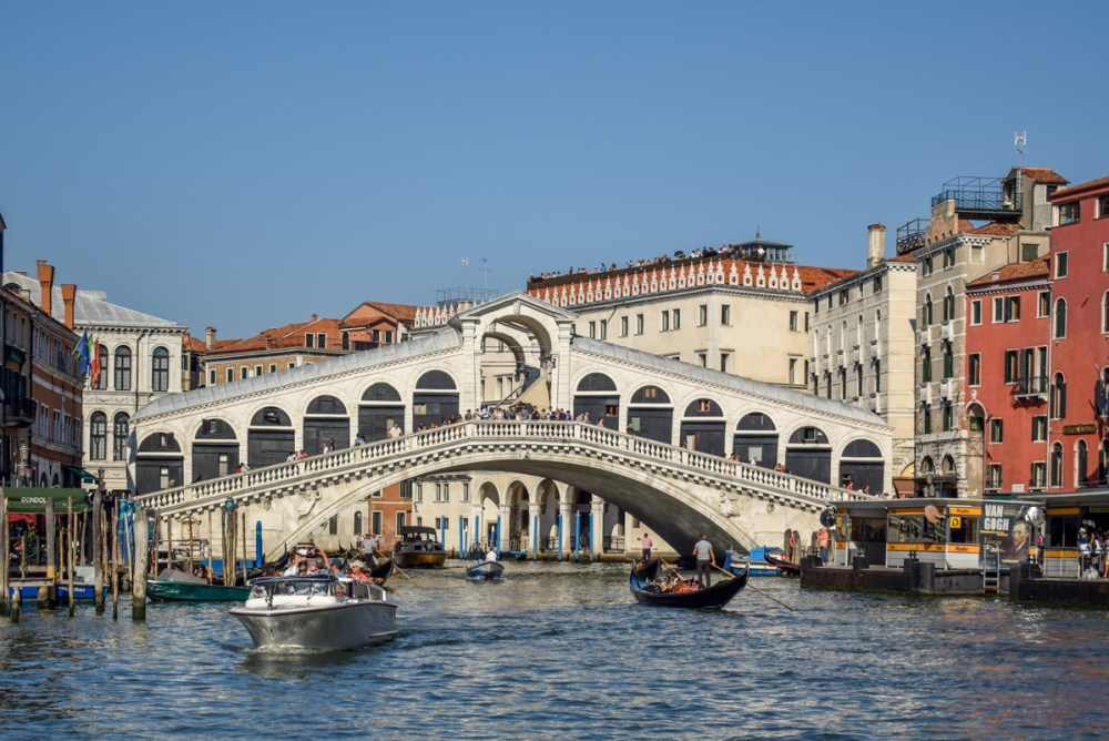 Vaporetto din Veneția - Ponte di Rialto
