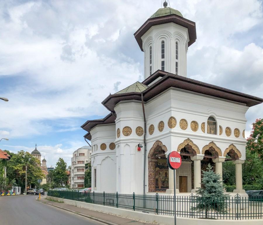 Cartierul Cotroceni - Biserica Sfantul Elefterie Vechi