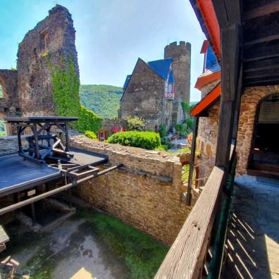 Râul Mosel din Germania - Castelul Thurant