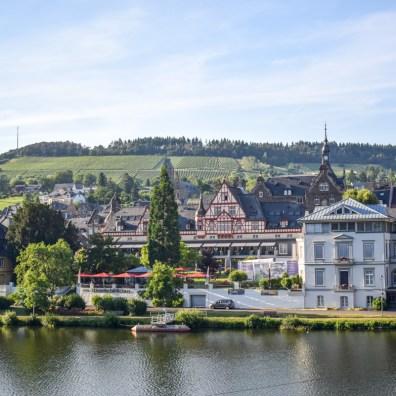 Râul Mosel din Germania - Traben Trarbach