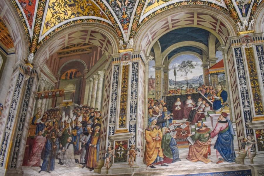 Duomo di Siena - biblioteca Piccolomini
