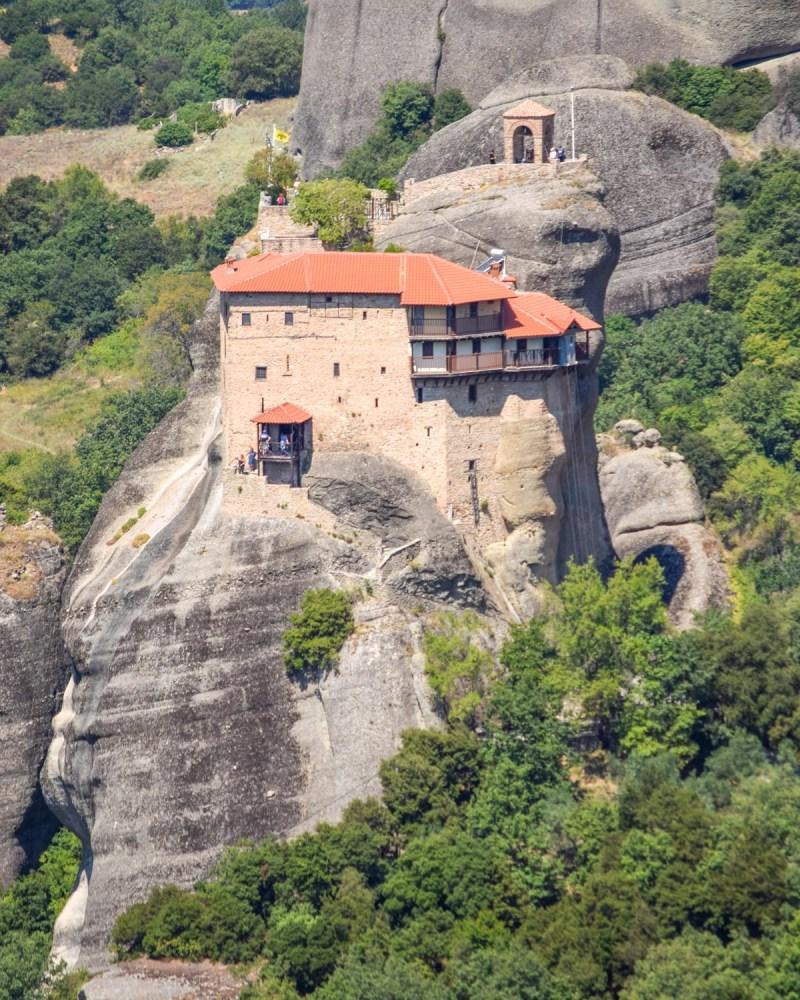 Manastirea Sf Nicolae, Meteora, Grecia