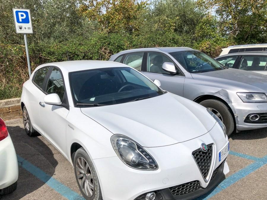 Vacanță în Toscana - parcare