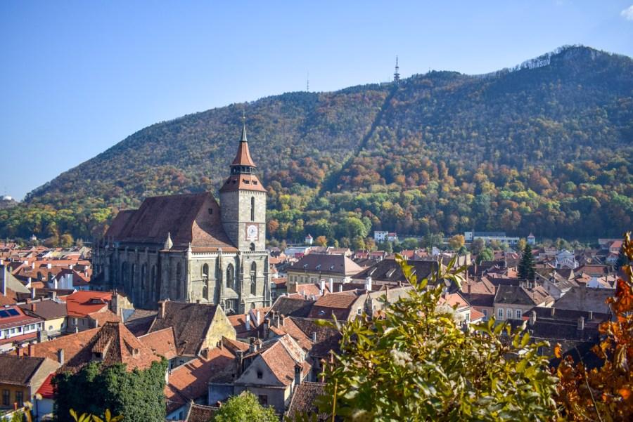 Brașov - priveliste din Turnul Negru