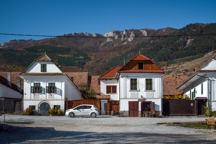 Satul Rimetea, Transilvania, Romania