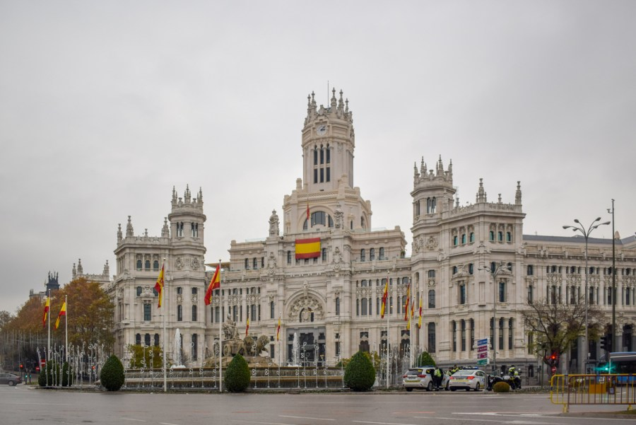 Palacio Cibeles, Madrid