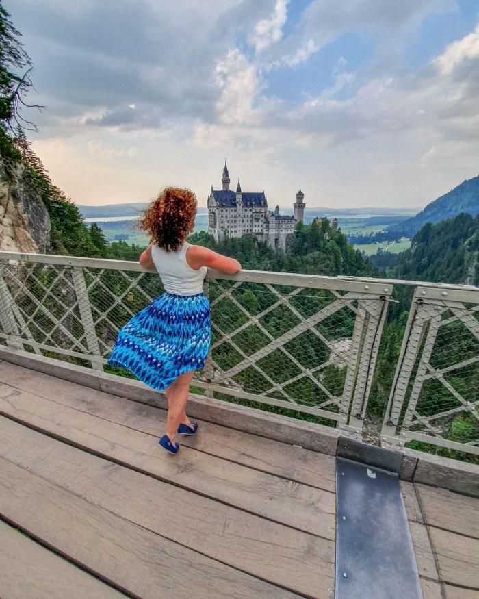 Castelul Neuschwanstein din Bavaria, Germania