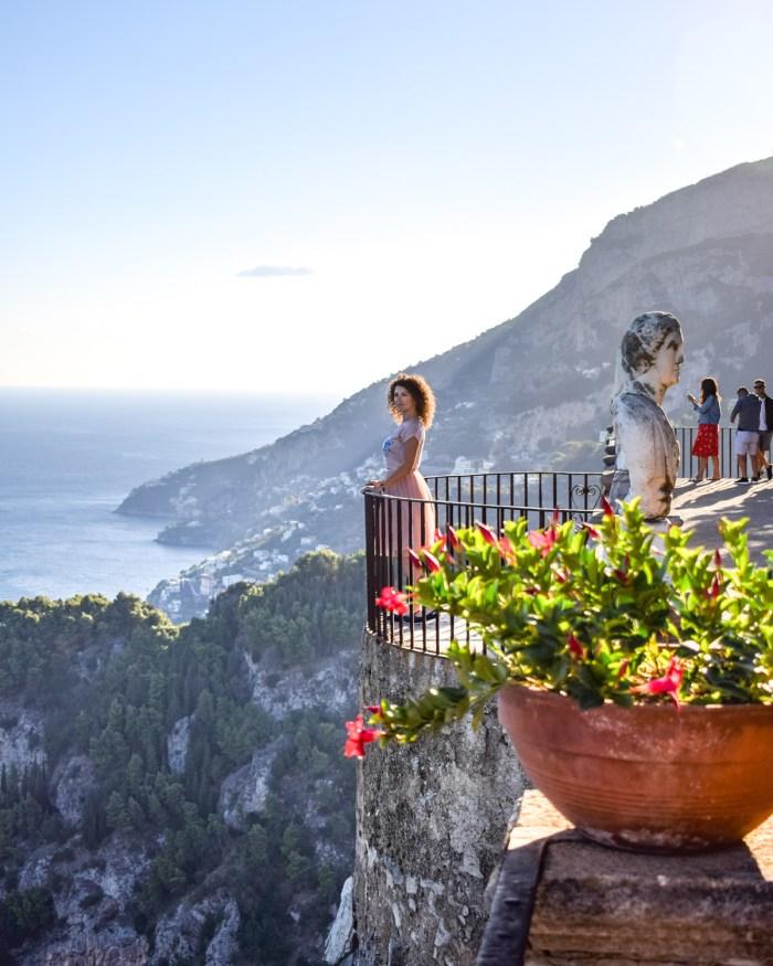 Obiective pe Coasta Amalfi - Villa Cimbrone, Ravello