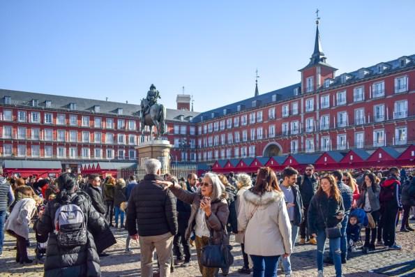 Plaza Mayor, Obiective din Madrid