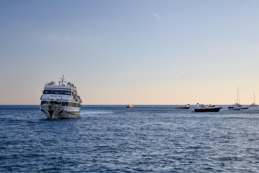 Transportul pe Coasta Amalfi