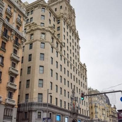 Gran Via, Obiective din Madrid