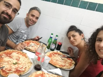 Pizza la Da Michele, Napoli