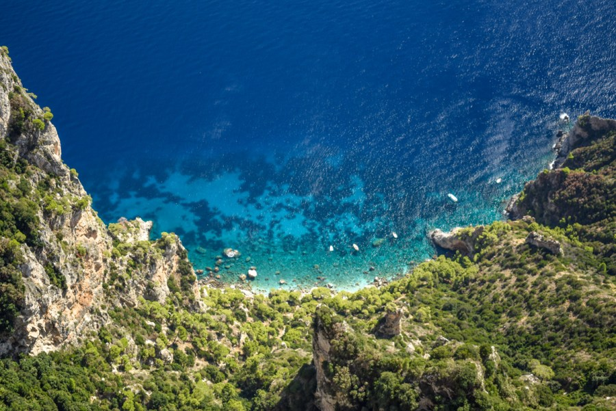 Anacapri - priveliște de pe Monte Solaro