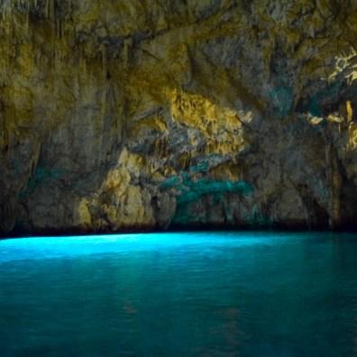 Obiective pe Coasta Amalfi - Grotta dello Smeraldo