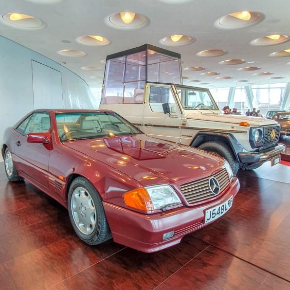 Muzeul Mercedes din Stuttgart