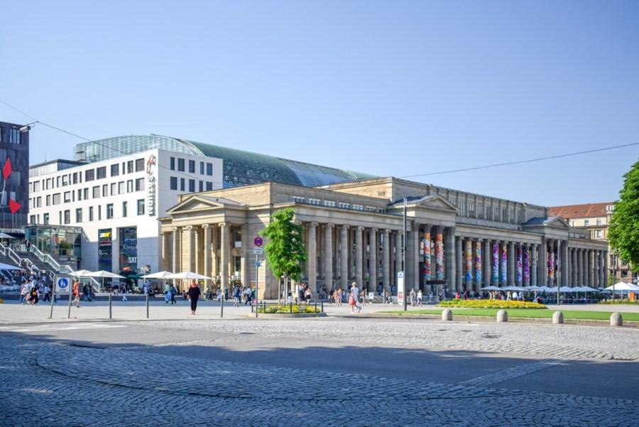 Centrul vechi din Stuttgart