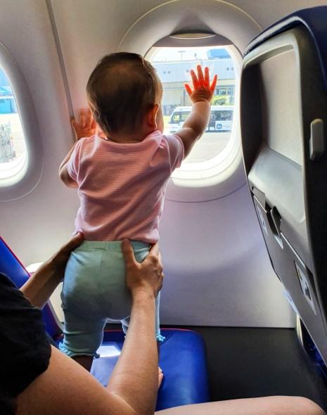 Primul zbor cu bebelușul