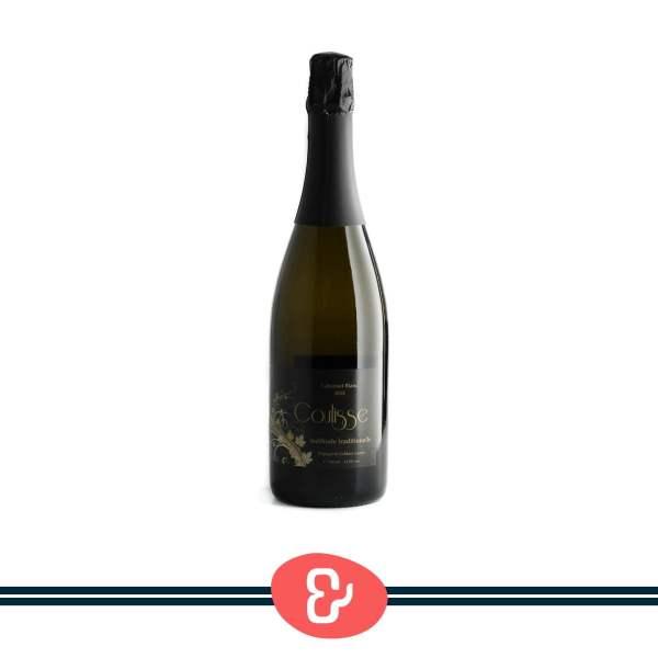 1 Coulisse méthode traditionelle - Brut - Wijngoed Gelders Laren - Nederlandse Wijn - Design & Wijn Amsterdam