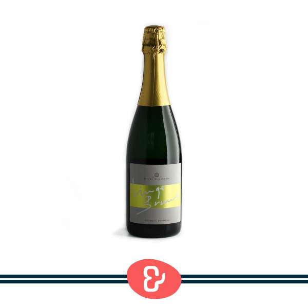 1 Linge Bruut - Brut - Betuws Wijndomein - Nederlandse Wijn - Design & Wijn Amsterdam
