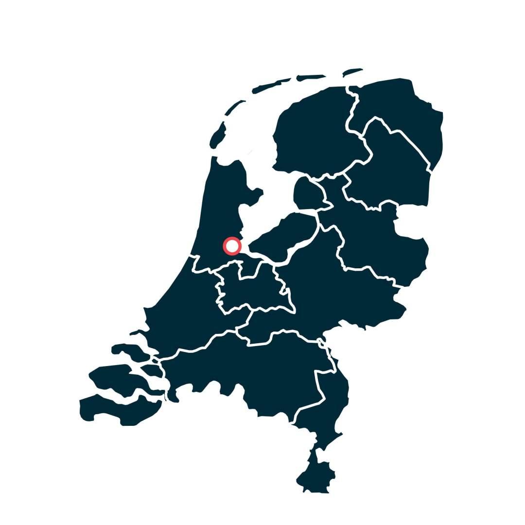 Amsterdam - Landkaarten Nederlandse Wijn Oorsprong - Design & Wijn