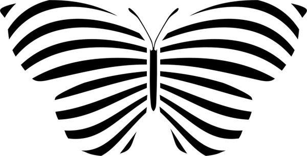 Raidallinen perhonen