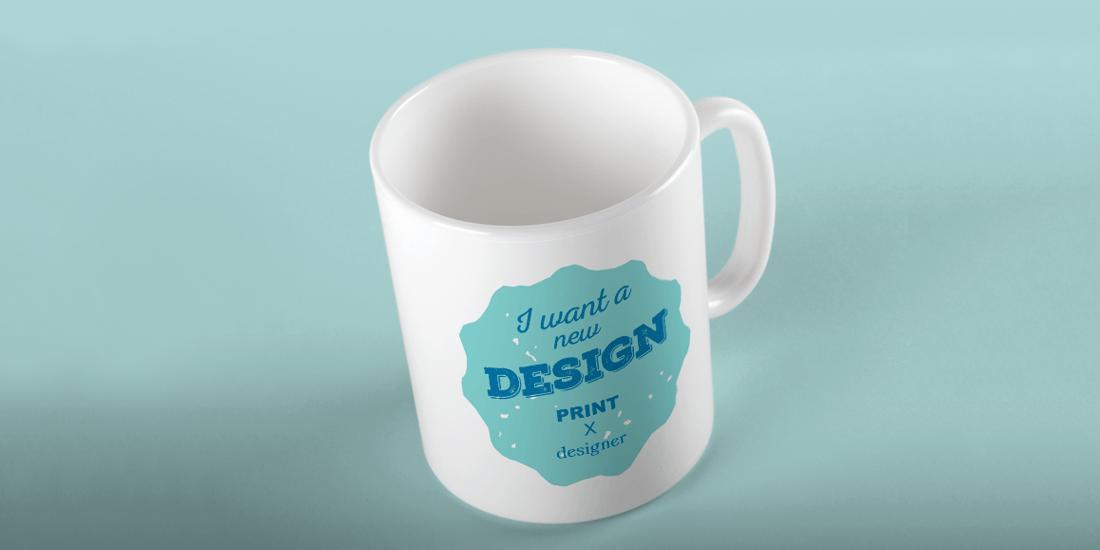 宣傳行銷用品馬克杯印刷設計