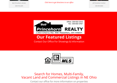 Princehorn Realty- Real Estate Property Search Website