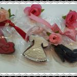 Wedding Favors, Dress & Heels Cookies
