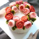 Singapore Designer Cream Cakes Korean Flower Cake Birthday