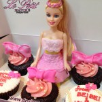 Barbie Doll Dress Cake