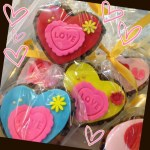 love heart shaped cookie
