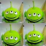 3D Alien Sculpted Fondant Cake