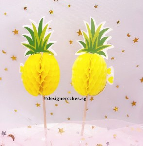 Pineapple (Ong Lai) - Cake Decorating Supplies - Cake / Cupcake Toppers