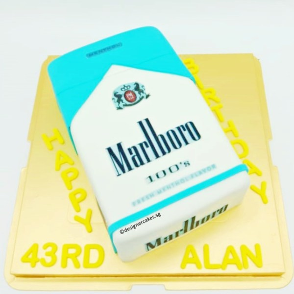 3D Cigarette Box