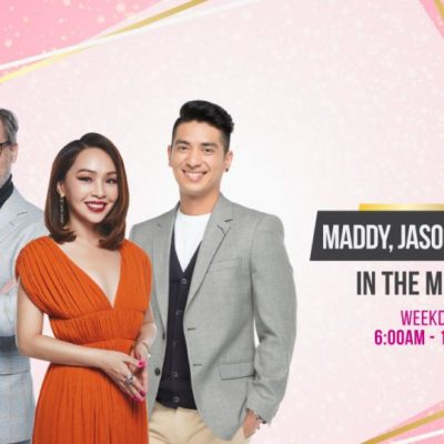 Maddy, Jason & Divian In The Morning - Kiss 92 Fm Singapore