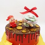 Prosperity Cake with Money Ball