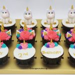 Unicorn Themed Cup Cakes