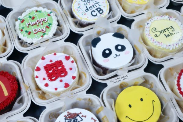 2 KOREAN BENTO LUNCH BOX SHORT CAKES 便当蛋糕