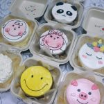 KOREAN BENTO LUNCH BOX SHORT CAKES 便当蛋糕