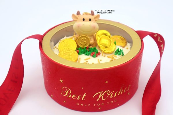 2021 CNY Cow [Gold Coins] Globe Bucket 2021 牛年 【金币】 抱抱桶