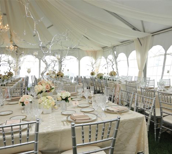 Wedding reception decorations designer chair covers to go for Simple wedding decorations for reception