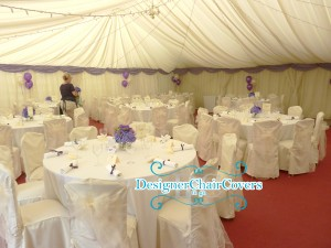 Ivory chair covers and sash hire, Canterbury