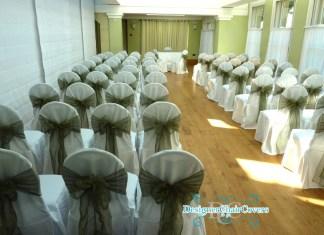 sage green wedding decor
