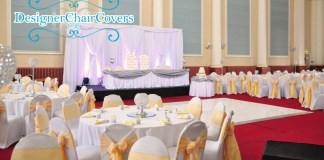 weddings corn exchange chair covers backdrop